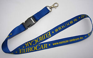 eurocar autozentrum landshut schl sselband lanyard neu t73 ebay. Black Bedroom Furniture Sets. Home Design Ideas