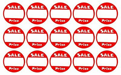 Self-adhesive Sale Price Round Retail Labels 1 Diameter Sticker Tags