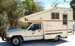 Toyota Hilux Automatic Motor Home Welshpool Canning Area Preview