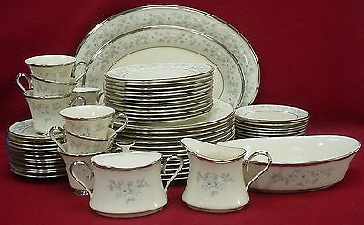 LENOX china WINDSONG pattern 66-piece SET SERVICE for 12 incl 6-pc HOSTESS SET