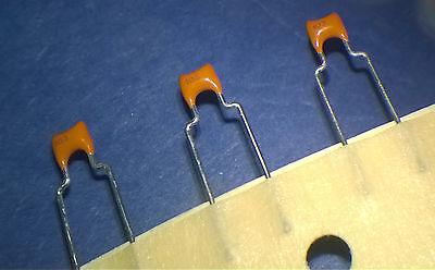 10nf 0.01f 50v Radial Leaded Ceramic Capacitors 103 - 30pcs 9c20x7r103k050b