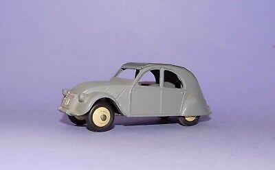 854 Vintage Dinky 24t Citroën 2cv Grey 1:43 Meccano Automotive