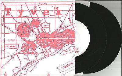 TYVEK Summer Burns 4 UNRELEASED trx LIMITED RARE DOUBLE 7 INCH vinyl 2007 USA