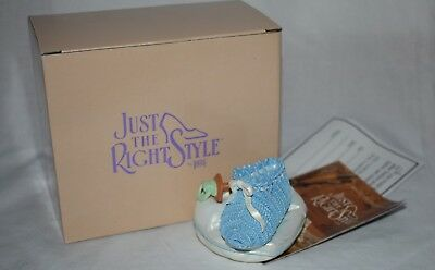 Just The Right Shoe by Raine - Blue Lullabye Box 25409 Gift