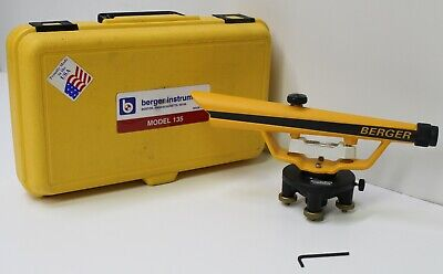 Cst Berger Instruments Transit Level Model 135 With Hard Case