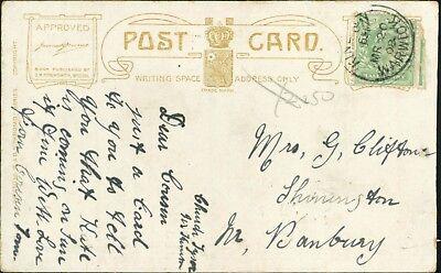 Mrs G Clifton. Shenington, Banbury. 1908. Cousin 'Tom'     AJ.1099