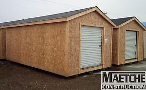12x20 Sheds For Sale (Maetche Construction)