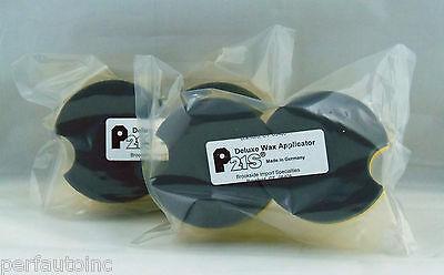 P21s® NEW DELUXE WAX APPLICATOR PADS BMW PORSCHE AUDI FORD PONTIAC SAAB MERCEDES (Saab Wax)