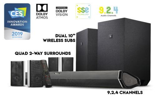 Nakamichi Shockwafe Ultra 9.2.4Ch 1000W Soundbar s Dolby Atmos, Dolby Vision+SSE