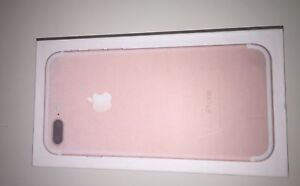 iPhone 7 Plus rose gold With Apple warranty
