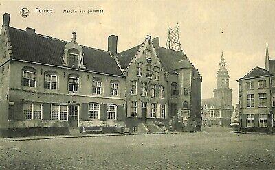 CPA - Belgique - Veurne - Furnes - Marché aux pommes