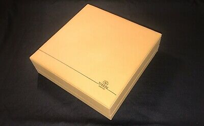 TORRINI 1369 Firenze Signature Leather JEWELRY BOX For Necklace Keep - EMPTY