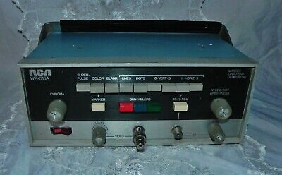 Rca Wr-515a Master Chro-bar Color Bar Generator