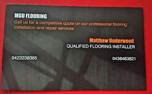 Qualified flooring installation and repairs Werribee Wyndham Area Preview