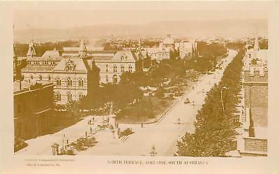 Australia, South Australia, Adelaide, North Terrace Real Photo Postcard 1925