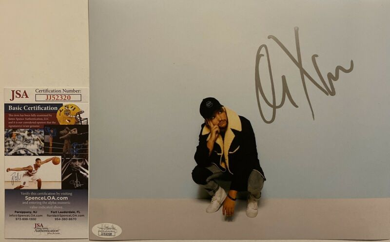 Quinn XCII Signed 8x10 Photo Autographed A Letter To My Younger Self JSA COA