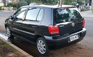 2001 VW POLO 16V - BLACK Trinity Gardens Norwood Area Preview