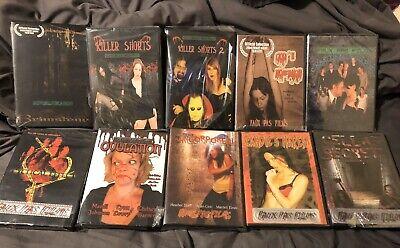 Independent Horror Films (Horror DVD Lot! 10 Independent Horror)