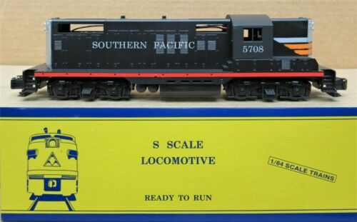 American Models SP/Southern Pacific GP-9 Diesel Engine #5708 S-Scale DC Hi-Rail