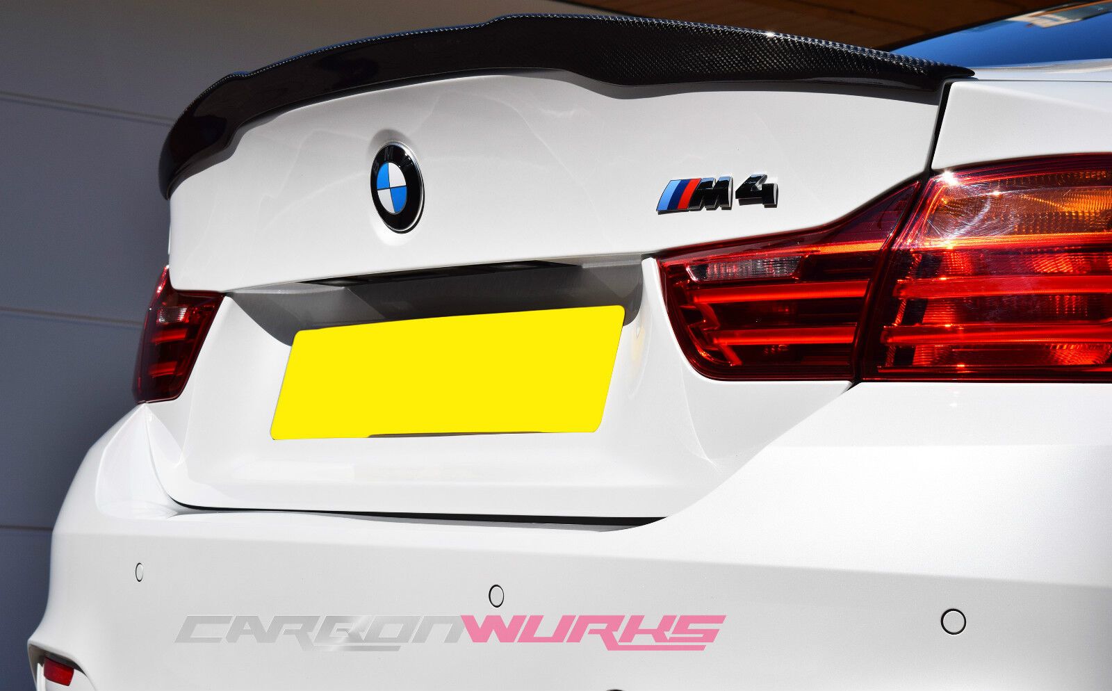 bmw m4 carbon fibre rear spoiler f82 carbon fiber uk. Black Bedroom Furniture Sets. Home Design Ideas