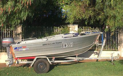 Quintrex 420 Estuary Fisher