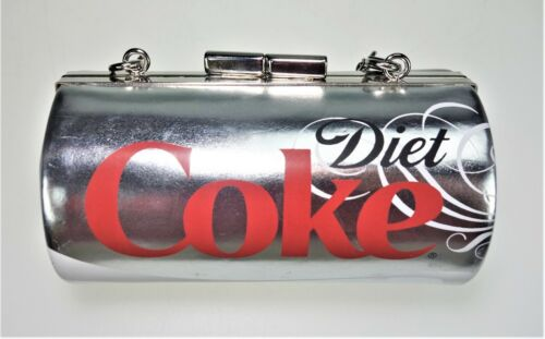 Diet Coke Coca Cola Barrel Clutch Coin Purse Small Shoulder Crossbody Bag