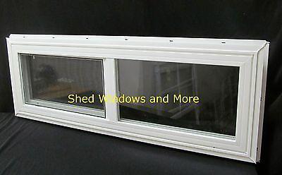 "Insincere Pane Horizontal 36""x12"" Window Vinyl Moble Homes Pocket Houses Playhouses"