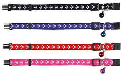 Trixie Cat Collar, Elastic, Nylon, Various Colours