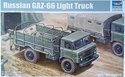 TRUMPETER® 01016 Russian GAZ-66 Light Truck in 1:35