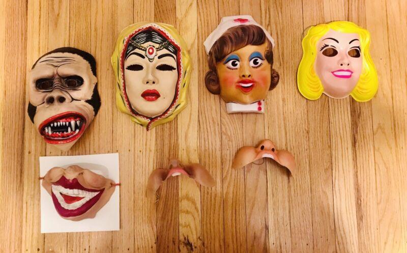 Ben Cooper Vintage Halloween Masks RARE