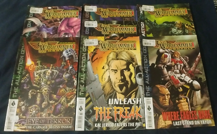 Warhammer Monthly Magazines June - December 2003 #69 - # 75