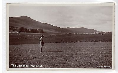 THE LOMONDS FROM EAST: Fife postcard (C10281)
