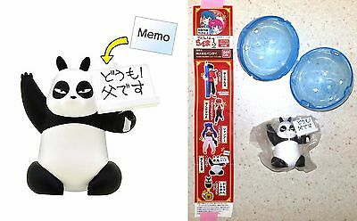 Ranma 1/2 on the Desk Genma Saotome Panda Version Figure Bandai Licensed New