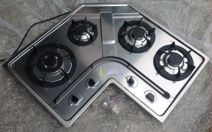 Gas Cooktop  4 x burners stainless Steel Ringwood Maroondah Area Preview