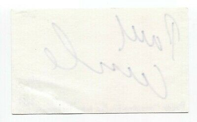 Paddy Considine Signed 3x5 Index Card Autographed Signature Actor - $45.00