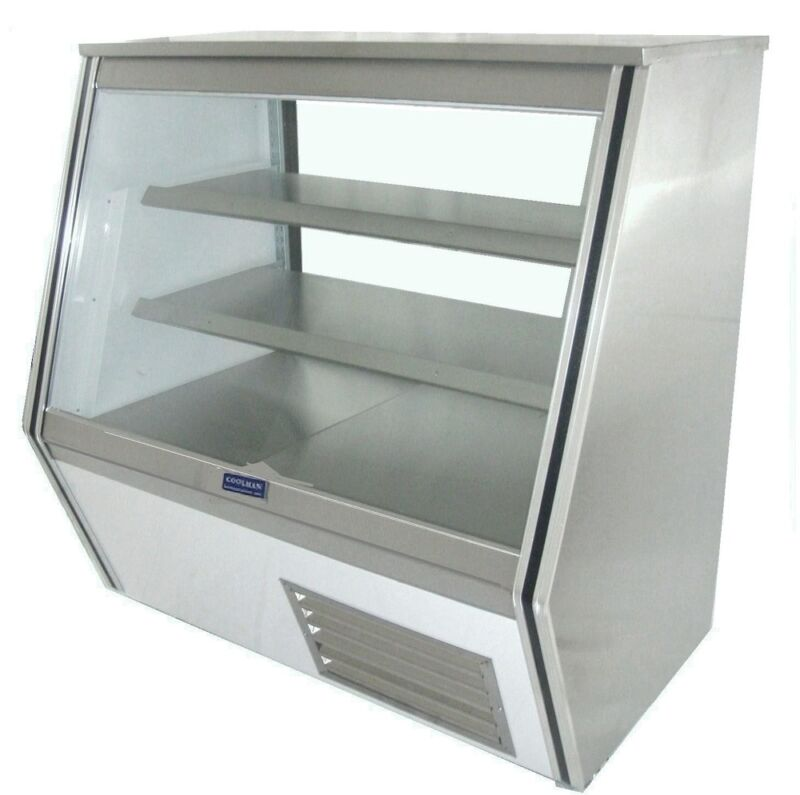 Coolman Commercial Refrigerated High Deli Meat Display Case 84""