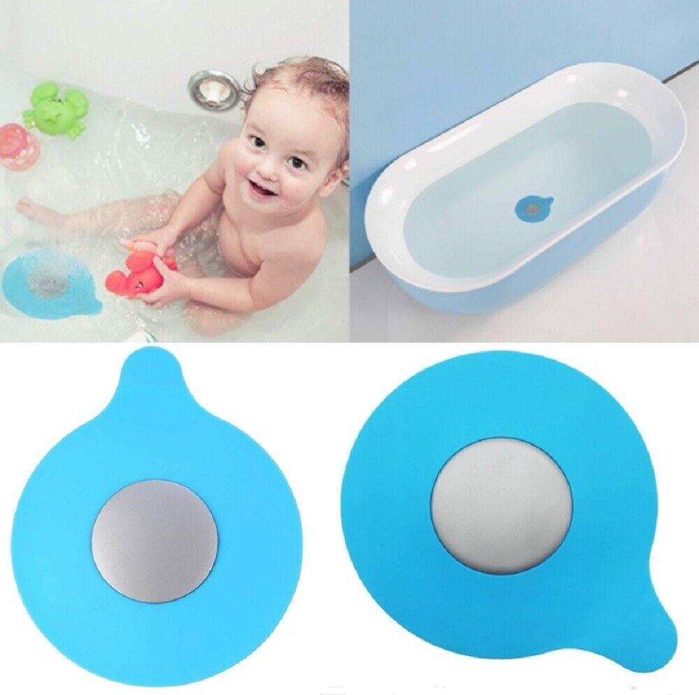 2 Pcs Silicone Floor Drain Plug Cover Kitchen Bath Tub Sink Rubber Water Stopper Home & Garden
