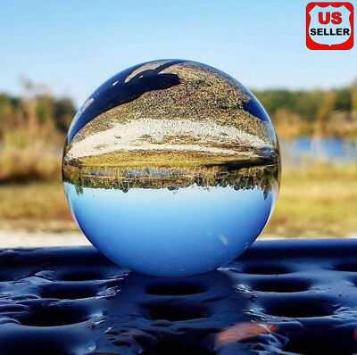60mm Photography Crystal Ball Sphere Decoration Lens Photo Prop Lensball - Decoration Props