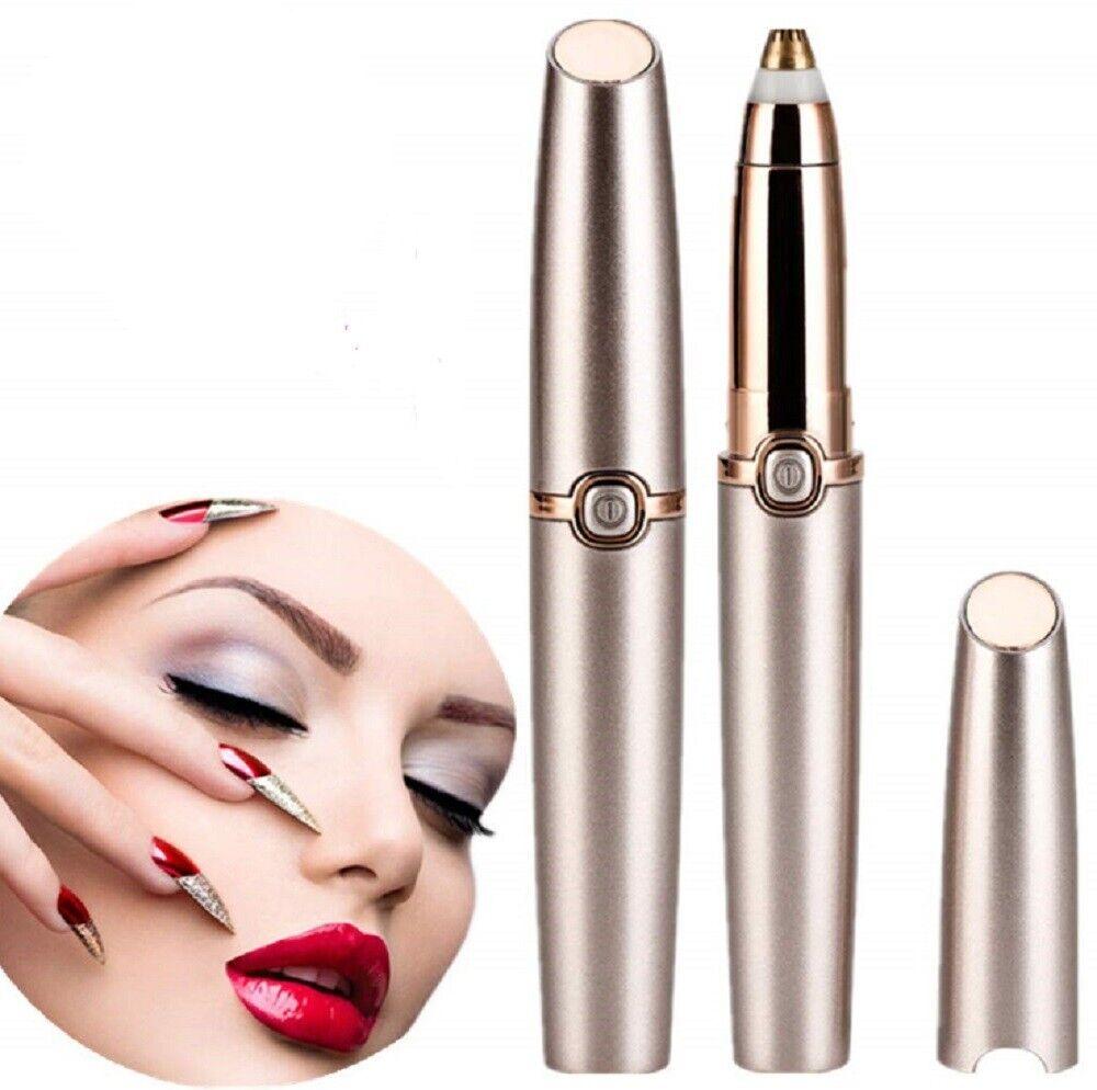 Women Electric Brows Trimmer Razor Hair Remover Facial Face Eyebrow Epilator New Electric Shaving & Hair Removal