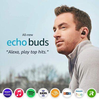 Amazon Echo Buds 2nd Gen True Wireless In-Ear Headphones, Black / NEW & SEALED