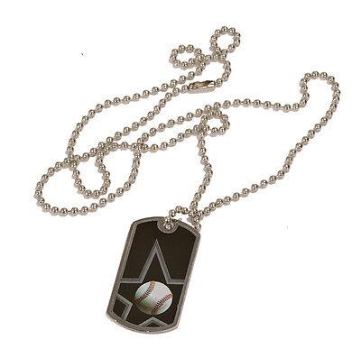 Black/Silver Engraved Sports ID Tags/Dog Tags-Basketball, Tennis, Football, Star ()