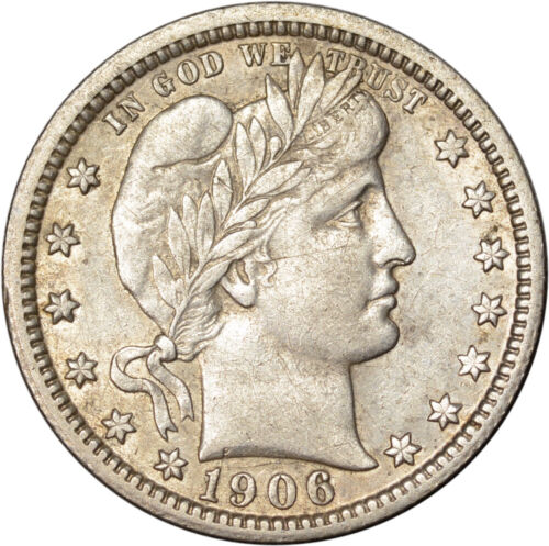 Underrated 1906-O Barber 25c Quarter Net XF - ToughCOINS