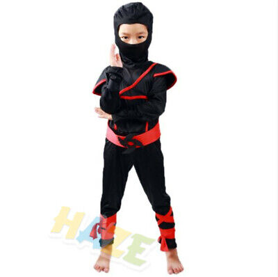 Japanische Ninja Cosplay Kostüm Halloween Assassin Kostüm Kinder Suit - Assassin Kostüm Kinder