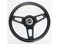 "1966 Chevelle Malibu steering wheel BOWTIE GLOSSY GRIP 13 1//2/"" Grant"