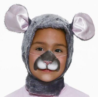Forum Novelties Child Size Animal Costume  Mouse Hood and Nose Mask](Animal Noses Masks)