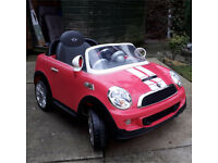 Mini Cooper S kids car