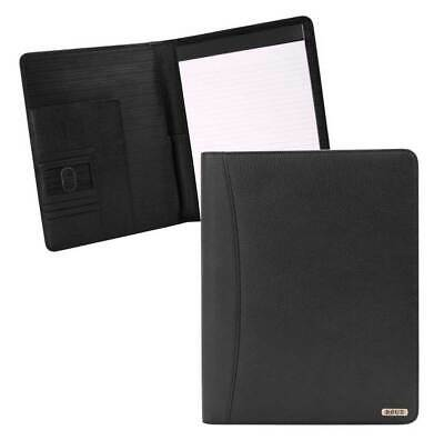Rout Competitor Milled Leather Writing Pad 10.25 X 12.5 Inches Black Rbn25518