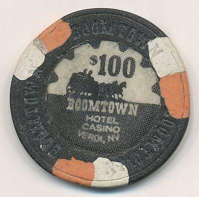 BOOMTOWN VERDI NV $100 CASINO CHIP 1967