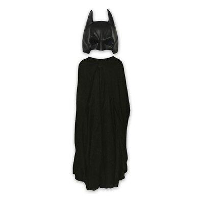 Batman Kostüm Maske & Cape Set 2-tlg. für Kinder ab 6 Jahren DC Comics Superheld