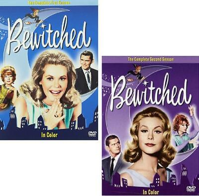 Bewitched First And Second Season 2 DVD Sets, Season 1 2 Colorized NEW - $16.99